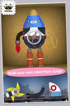 Toca Robot Lab  de Toca Boca