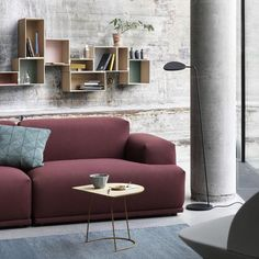 Muuto Connect Modular sofa is a design by Anderssen & Voll who wanted to allow you to create your own sofa by finding the perfect balance between the different components of the sofa. Living Room Inspiration, Interior Design Inspiration, Home Interior Design, Interior Decorating, Sofa Inspiration, Luxury Interior, Interior Colors, Interior Livingroom, Interior Ideas