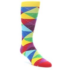 21805-multi-color-argyle-men's-dress-socks-ballonet-socks01
