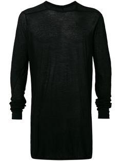 RICK OWENS Level T-Shirt. #rickowens #cloth #t-shirt