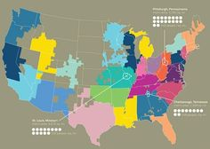 The Connected States of America | Geography Education | Scoop.it