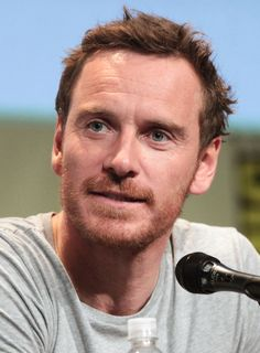 Michael Fassbender by Gage Skidmore Michael Fassbender And Alicia Vikander, Celebrity Mugshots, Calvin Klein One, R Man, Weak In The Knees, Nicholas Hoult, My Future Boyfriend, Band Of Brothers, Ginger Beard