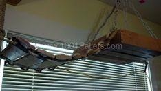 DIY: Pallet Cat Tree | 1001 Pallets