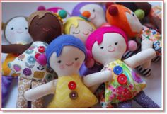 Sewing Gifts For Men Josephine Dolls free tutorial. I'm going to make little Joe's for my little men. - Sew this adorable rag dolls in just about an hour. Free pattern and instructions! Doll Patterns Free, Doll Sewing Patterns, Sewing Dolls, Free Pattern, Fabric Doll Pattern, Plushie Patterns, Food Patterns, Henna Patterns, Fabric Toys