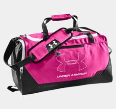 Under Armour Hustle Storm Small Duffle Bag - Dick's Sporting Goods- mom I need this for sports it'll help me Under Armour Backpack, Nike Under Armour, Gymnastics Gifts, Valentine's Day, Ballet, Sporty Girls, Backpack Bags, Duffel Bags, Fashion Bags