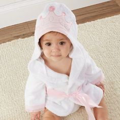 little Princess Hooded Spa Robe