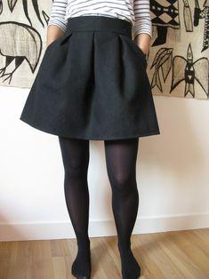 La jupe Rachel issue du magazine La Maison Victor est une de mes réalisations préférées de cet hiver : toute simple, facile à porter, elle m'a réconciliée avec les jupes taille haute ! …