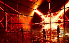 State Grid Pavilion, Magic Box, EXPO Shanghai 2010 | Atelier Bruckner, Photo, Roland Halbe
