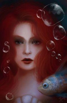 Ariel Portrait by Jennyeight.deviantart.com on @deviantART