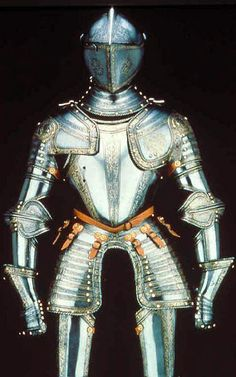 Three-quarter field armor, possibly for Henry Herbert, second Earl of Pembroke (1534-1601), 1560-1570 / Northern Italy (Milan)