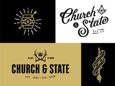 Church & State Branding by Tim Praetzel Twitter:...