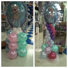 Frozen balloons done by LTM PARTY