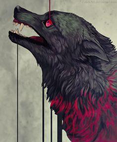 New Arrivals - 🏵 🐺DIY Beautiful Wolf Crafts,Activities,Gifts & Decor? Fantasy Wolf, Dark Fantasy Art, Dark Art, Desenho Tattoo, Beautiful Wolves, Anime Wolf, Arte Horror, Fantasy Kunst, Creature Design