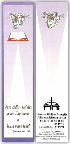 LBD [Lesezeichen] : Lietuvos Biblijos Draugija von | LibraryThing