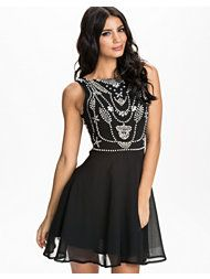 Women's fashion & designer clothes online Black Party Dresses, Cute Dresses, Chiffon, Babydoll Dress, Baby Dolls, Dresser, Pearls, Clothes For Women, Womens Fashion
