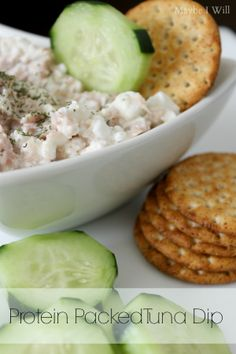 Protein Packed Tuna Dip on MyRecipeMagic.com
