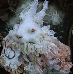 Alice in wonderland: White rabbit. €320,00, via Etsy.