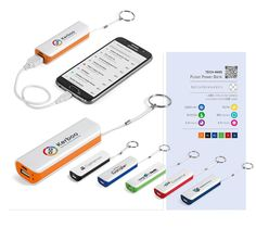 A Keyring Power Bank is a great mini mobile charger that is compact and perfect for travel. We supply these branded power banks in South Africa.