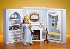 Amazing parlour for Caroline Abbott. This is a beautiful playset for kids and just a scenery on its own for display. I am impressed :D Thank you AG- 1812   Photo and additional info at http://www.marylandpinkandgreen.com/2012/08/meet-american-girl-caroline-abbott.html I saw a video by AGoverseasfan http://www.youtube.com/watch?v=9Swg9iv9fvw via agplaythings.proboards.com/index.cgi?board=mainforum
