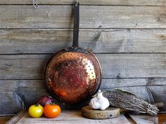 Vintage Copper Sieve, Copper Sifter, Copper Strainer, Antique French Colander. French Copper Sifter, Country Kitchen Decor, GIFT FOR HER, by JadisInTimesPast on Etsy