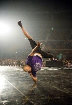 Bboy Morris - Legendary Elbow Spin Photo