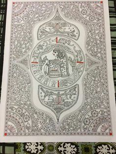 Gond Painting, Saree Painting, Kalamkari Painting, Fabric Painting, Painting & Drawing, Madhubani Paintings Peacock, Madhubani Art, Indian Art Paintings, Art Forms Of India
