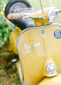 Pastel Yellow, Shades Of Yellow, Mellow Yellow, Yellow Flowers, Limoncello, Moped Scooter, Vespa Scooters, Yellow Pantone, Pocket Full Of Sunshine