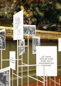 An Exhibition at Hampton Court Palace.Design bybibliothequedesign&Exhibition design: Universal Design Studio