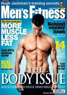 Men's Fitness Magazine Cover [United Kingdom] (January 2012)
