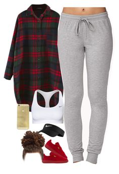 """""""Work hard in silence, let your success make noise."""" by thatchickcrazy ❤ liked on Polyvore featuring NIKE, Puma and Forever 21"""