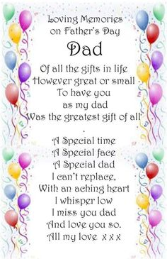"miss you dad...another first...fathers day...tired of these ""firsts"""