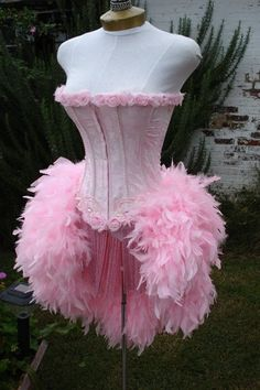 The Clio Pink Wedding Mansion Party Burlesque by victoriavelvet, $165.00