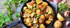 DAGENS RETT: Poor man's stew - Aperitif.no Bacon, Potatoes, Vegetables, Food, Potato, Veggies, Vegetable Recipes, Meals, Yemek