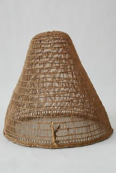 baskets of native americans | Native American Hupa Basket, California