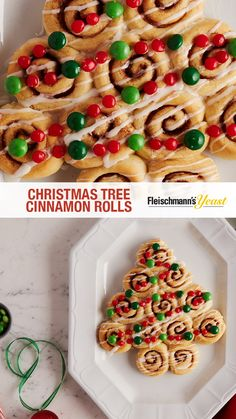 Christmas Tree Cinnamon Rolls is a recipe that is sure to become and favorite and wow holiday guests. Get creative with the toppings and experiment with different colored homemade icing to make this treat truly special and unique.