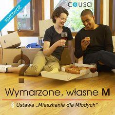 """http://www.blog.causakancelariaprawna.eu/2013/11/wymarzone-wasne-m-ustawa-mieszkanie-dla.html   Temat: Wymarzone, własne M (ustawa """"Mieszkanie dla młodych"""").   Rozwinięcie tematu na blogu Kancelarii, zapraszamy :)"""