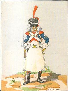 French; 17th Light Infantry, Sapper, Grande Tenue, 1808