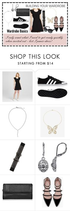 """""""..."""" by ma-nouvelle-vie-en-rose ❤ liked on Polyvore featuring Victoria Beckham, adidas, Banana Republic, Express, New York & Company, 1928, STELLA McCARTNEY, Zara and Coach"""