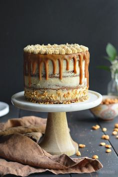 The Ultimate Peanut Butter Lover's Cake // bethcak. - - The Ultimate Peanut Butter Lover's Cake // bethcak… – - Food Cakes, Cupcake Cakes, Beautiful Cakes, Amazing Cakes, Peanut Butter Chips, Peanut Butter Ganache Recipe, Peanut Butter Chocolate Cake, Salted Caramel Cake, Nutter Butter