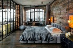 STUNNING!  Repost from @house.interior.design - Awesome bedroom by Igor Martin and Olga Novikova of Martin Architects. (at Toronto Ontario)