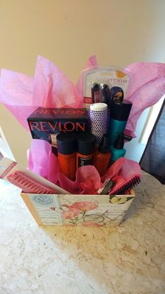 Hair Salon fundraiser gift basket!