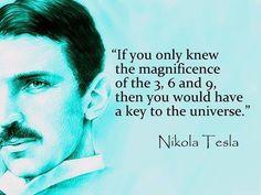 The magic of 369 Tesla