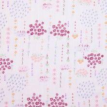 Sweet Floral Cotton Gauze Print
