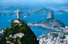 Rio!!  And, Sao Paulo, too. There is a Renoir painting at a museum there I would love to see 'live'.