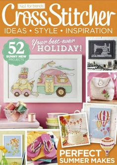 Cross Stitcher Magazine - August 2015 295 - CrossStitcher