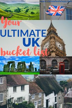 Planning a trip to the UK? This UK bucket list covers all of the best things to do in England, Scotland, Wales and Northern Ireland. If you are searching for the best British attractions; be they museums in London, national parks in northern England or hiking destinations in Scotland, this list of the best things to do in Britain has got you covered! Click through to check it out and start ticking those bucket list destinations off! #greatbritain #bucketlist