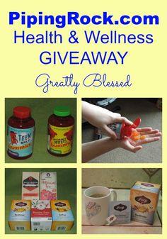 PipingRock.com $25 #Health & #Wellness #giveaway @pipingrock @piping_rock