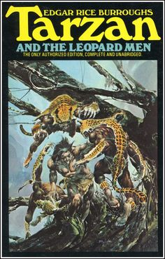 Tarzan And The Leopard Men by Edgar Rice Burroughs