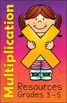 Multiplication Teaching Resources in Laura Candler's File Cabinet for Grades 3-5