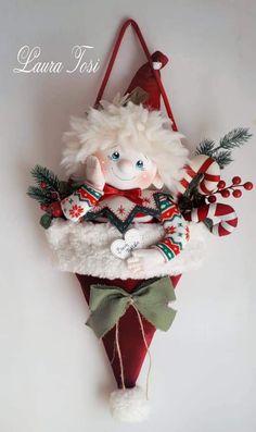 Christmas Elf, Christmas Stockings, Christmas Crafts, Christmas Ornaments, Elves, Holiday Decor, Fabric, Diy, Home Decor